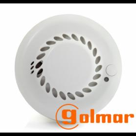 Detector de humo vía radio seleccionable (uni/bidi) DH-4703WL Golmar