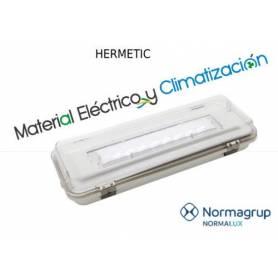 Alumbrado de emergencia Hermetic 490lm Blanco