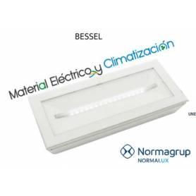 Alumbrado de emergencia Bessel 100lm Permanente de NormaLux