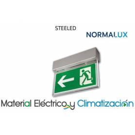 Alumbrado de señalización Steeled Acero de NormaLux