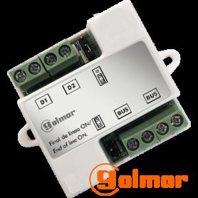Distribuidor de vídeo D2L-GB2 Golmar