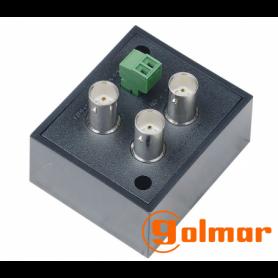 Distribuidor DS1-2HD 1 entrada y 2 salidas Golmar