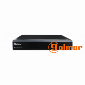 Grabador digital Híbrido DVR-16P para 16 cámaras Golmar
