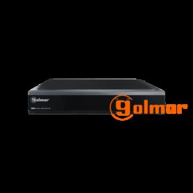 Grabador digital Híbrido DVR-16Q para 16 cámaras 5Mpx Golmar