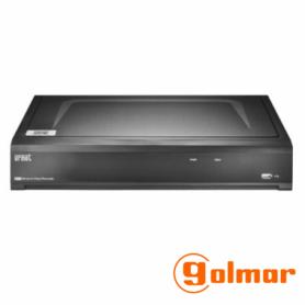 Grabador profesional NVR-908H5 para cámaras IP Golmar