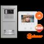 Kit comunitario de vídeo para 4 viviendas E8204/VESTA2 SE Golmar