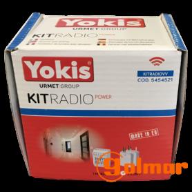 Kit radio conmutador KITRADIOVVP Golmar