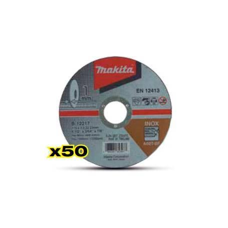 Caja de 50 discos abrasivos de corte B-12217-50
