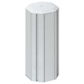 Minicolumna de aluminio de 4 caras para 6 elementos por cara Simon K45