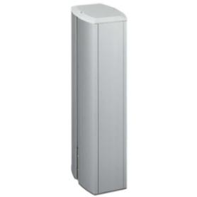 Minicolumna de aluminio de 2 caras ovalada para 6 elementos por cara Simon K45