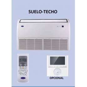 AIRE ACONDICIONADO INVERTER SUELO-TECHO   QZL036   10.4KW