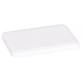 Embellecedor superior para minicolumnas de 1 cara blanco Simon 500 Cima
