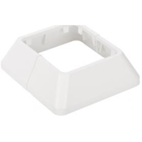 Embellecedor inferior para minicolumnas e inferior o superior para columnas de 2 caras blanco Simon 500 Cima
