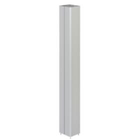 Prolongación 1 metro para columna aluminio de 2 caras Simon 500 Cima