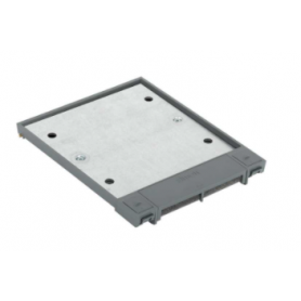 Tapa abatible para caja de suelo regulable o tapa registro en pavimento o suelo técnico 6 elementos gris Simon 500 Cima