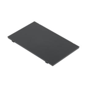 Tapa embellecedora suelo enrasamiento caja cuadrada de profundidad reducida para 4 elementos gris Simon 500 Cima