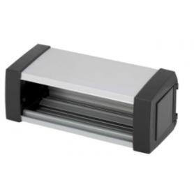 Perfil de aluminio Ofiblock Plus de 2 elementos grafito Simon K45
