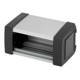 Perfil de aluminio Ofiblock Plus de 1 elemento grafito Simon K45