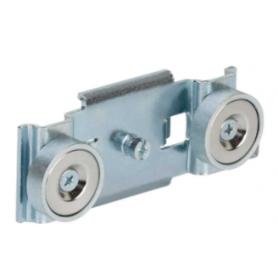 Soporte de fijación individual sobre imantación para perfiles de aluminio Ofiblock Plus y Ofiblock Compact Simon K45