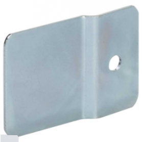 Soporte de fijación individual mural en pared para perfiles de aluminio Ofiblock Compact Simon K45