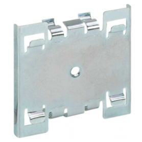 Soporte de fijación individual sobre guía DIN para perfiles de aluminio Ofiblock Plus y Ofiblock Compact Simon K45