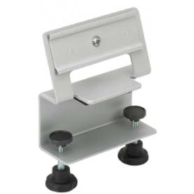 Soporte de fijación individual sobre mesa para perfiles de aluminio Ofiblock Plus y Ofiblock Compact Simon K45