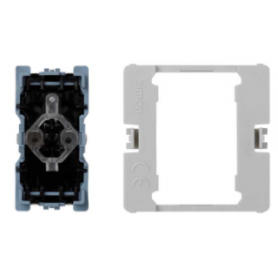 Pulsador 16 A 250V~ con luminoso incorporado y sistema de embornamiento rápido Simon K45