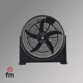 Ventilador Box fan Negro aspas 50 cm Ø 120 watios