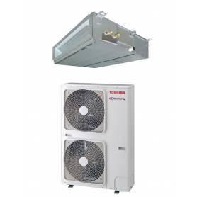 Conjunto Conductos Aire Acondicionado Toshiba SPA DI 140