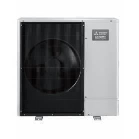 Bomba de calor Aerotemia Ecodan Mitsubishi 11KW Trifásica Calor/Frío Power Inverter PUHZ-SW100YAA (Unid. Ext.)