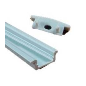 Perfil 1 de aluminio para 2 metros de longitud