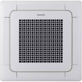 Panel para Cassette de 4 Vías con diseño Waffle blanco. Dimensiones (WxHxD): 950x64x950 mm